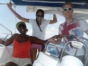 RYA practical sailing courses Caribbean