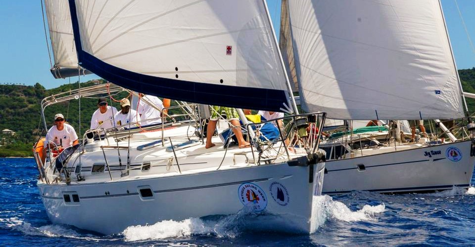Our Caribbean regatta charters promise excitement and great sailing!