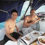 Breakfast in Tobago Cays | Grenada Bluewater Sailing