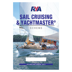 RYA Sail Cruising & Yachtmaster Scheme Syllabus & Logbook | RYA Materials
