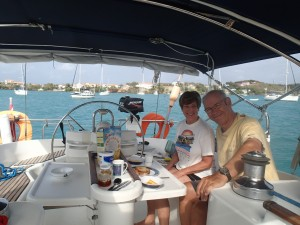 Chao Lay cuisine during an RYA Start Yachting Course