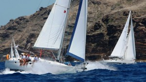 Antigua Sailing Week - Regatta action in Antigua
