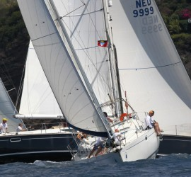 Antigua Sailing Week - Chao Lay racing in Antigua