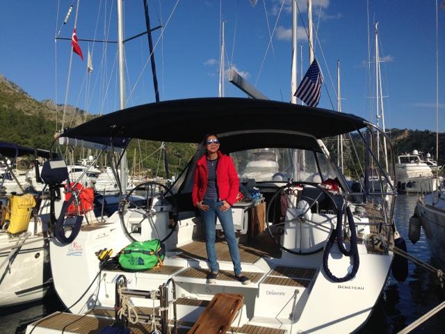 Lisa on Mimpi - a Beneteau Oceanis 45