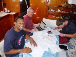 Yachtmaster Ocean theory course preceding qualifying ocean passage.