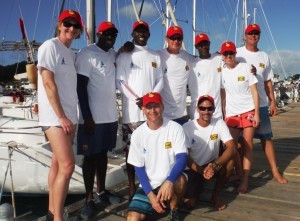 Crew of Chao Lay for Grenada Sailing Week Caribbean Regatta