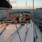 The RYA Coastal Skipper course teaches you to sail longer passages.