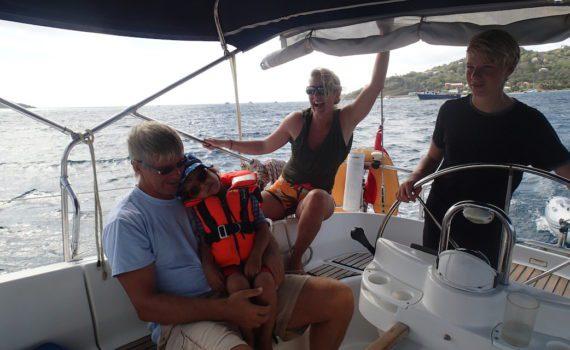 Family Sailing Vacation in Grenada, Caribbean