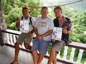 Sailing theory courses in Grenada - successful students!