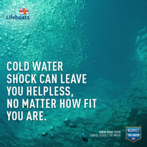 Cold Water Shock RNLI